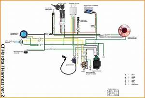 Pit Bike Wiring Diagram Cdi