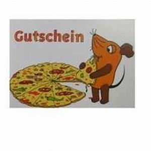 Otto Gourmet Gutschein : maus postkarte gutschein mit pizza im shop ~ Orissabook.com Haus und Dekorationen
