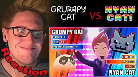 Grumpy Cat vs. Nyan Cat (60fps) - ANIMEME RAP BATTLES ...