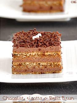 alter gusto g 226 teau au chocolat ricotta petit brun sans cuisson