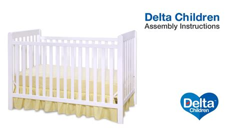 delta bennington crib delta children waves bennington 3 in 1 crib assembly