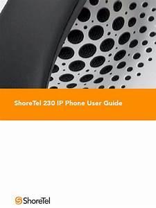 Shoretel 6 1 Ip230 User Guide