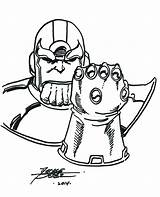 Thanos Coloring Pages Infinity Gauntlet Disney Drawing Printable Huey Marvel Children Getcolorings Drawings Boondocks Print Adults Riley sketch template