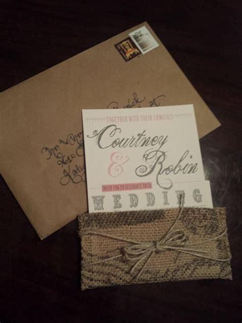 Excited to get this beautiful elegant wedding invitation