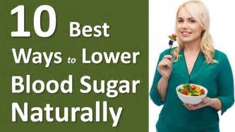 ways   blood sugar levels naturally youtube