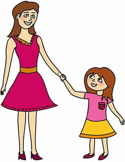 Mutter Clipart Tochter Mama Madre Hija Mom