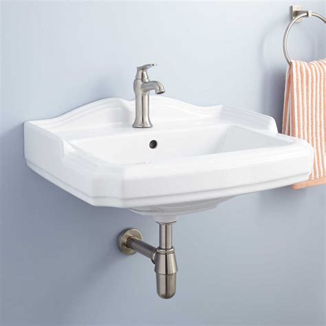 garvey porcelain wall mount bathroom sink bathroom
