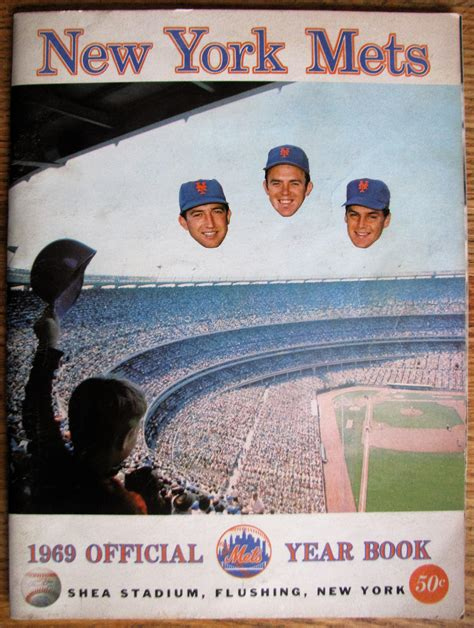 lot detail   york mets yearbook championship year