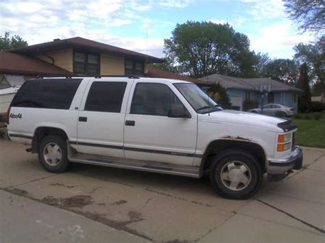 how to fix cars 1994 gmc suburban 1500 head up display find used 1994 gmc k1500 suburban sle sport utility 4 door 5 7l 4x4 in south sioux city