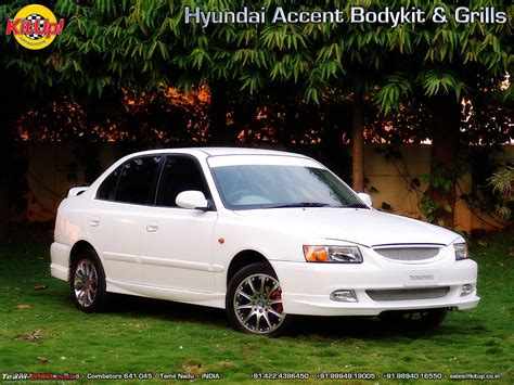 hyundai accent modifications team bhp