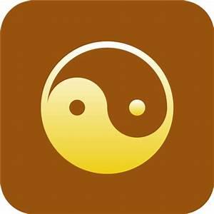 Taoism Daoism Yin yang Icon | Religious Symbol Iconset ...