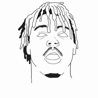 Wrld Juice Drawings Rapper Cartoon Drawing Trippy