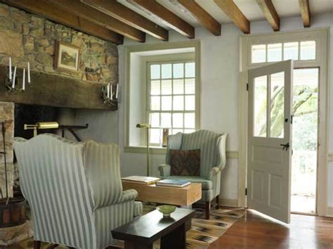 shaker simplicity in a stone house old house journal magazine