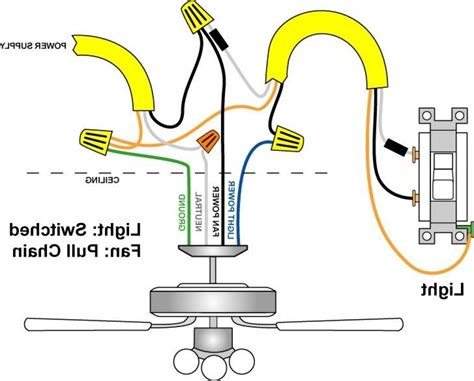 how to wire a ceiling fan with light ceiling fans with lights hunter fan wiring diagram