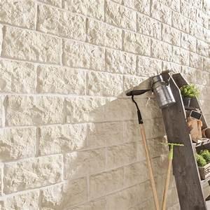 Plaque De Parement Leroy Merlin : plaquette de parement b ton beige euroc 101 leroy merlin ~ Dailycaller-alerts.com Idées de Décoration