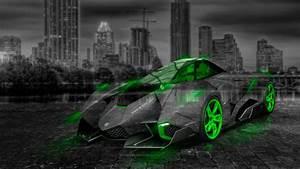 Lamborghini Egoista Crystal City Car 2014