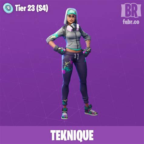teknique epica skins de fornite