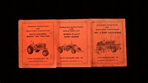 Wiring Diagram Database  Allis Chalmers Wd Parts Diagram