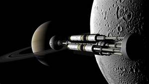 Black Moon of Saturn Monolith - Pics about space