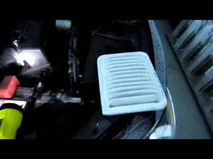 How To Change The Engine Air Filter On 2009