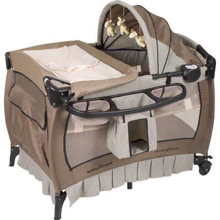 playpen crib combo baby trend nursery center playard deluxe havenwood