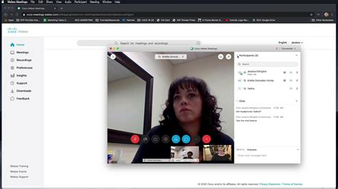 webex chat feature youtube