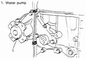 repair guides water pump removal installation With suzuki 1 8l engine