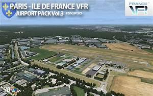 France Vfr - Sc U00e8nes Photor U00e9alistes Pour La Simulation De Vol   Paris