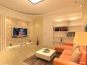 Simple Living Room Design With Tv