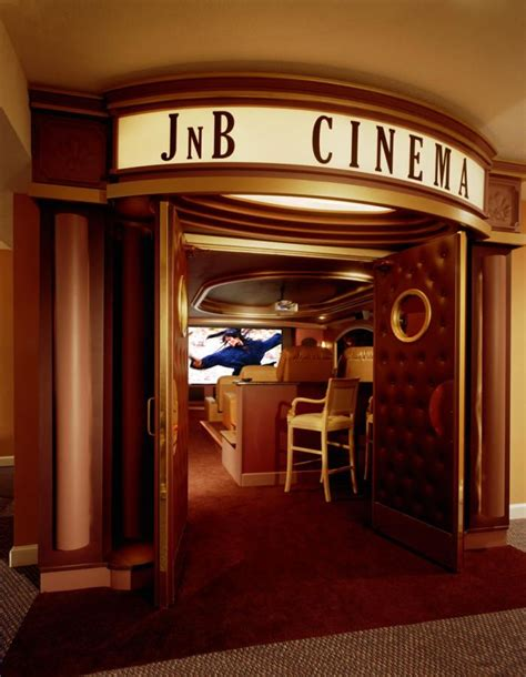 Home Movie Theater Entrance
