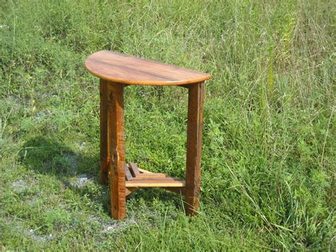 half circle side table half round hall table traditional side tables and