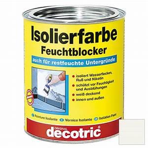 Farbe Gegen Feuchtigkeit : decotric isolierfarbe feuchtblocker wei 750 ml matt bauhaus ~ Sanjose-hotels-ca.com Haus und Dekorationen