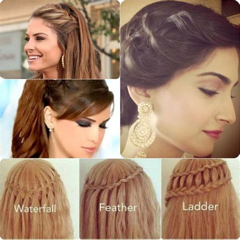 party hairstyles step  step  stylo planet