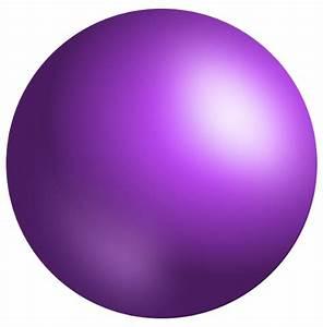 """Sphere, Purple, 3D, Ball, Geometry"" by TOM HILL"