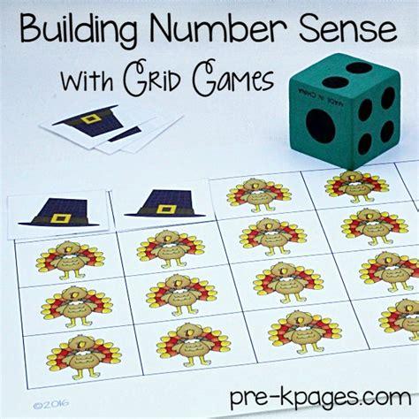 thanksgiving theme pre k preschool kindergarten 907 | Printable Thanksgiving Grid Game
