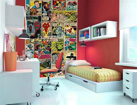 Marvel Comic Kids Fun Wallpaper Mural Photo Wall Paper