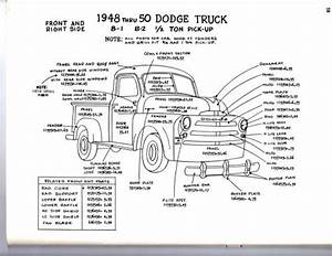 Sell 1951 1952 1953 Dodge Truck 1  2 3  4 1 Ton Exterior