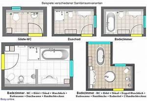 Bad Grundrisse Beispiele : grundrissplanung sanit rr ume shkwissen haustechnikdialog ~ Orissabook.com Haus und Dekorationen