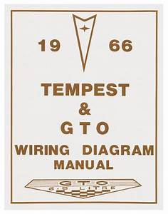 Wiring Diagram Manuals Fits 1966 Gto   Opgi Com