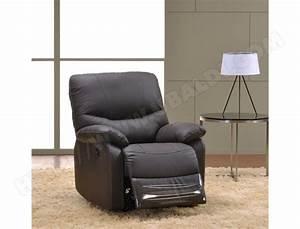 Design Fauteuil Pas Cher : fauteuil relaxation ub design pomelo brun pas cher ~ Teatrodelosmanantiales.com Idées de Décoration
