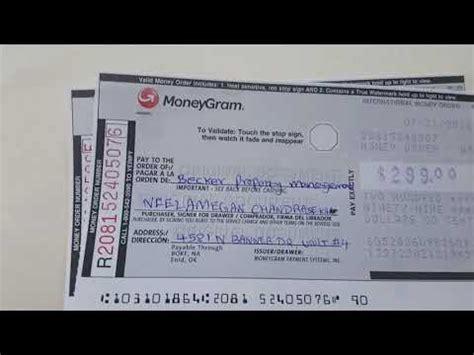 money order sample walmart hq printable documents