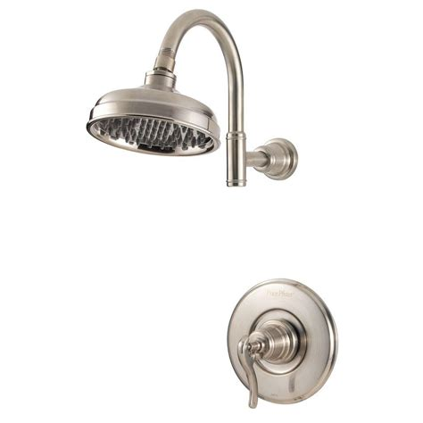 pfister kitchen faucet pfister ashfield single handle shower faucet trim kit in