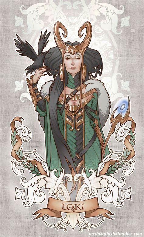 Lady Loki By Asuncion Macian Ruiz This Is Halloween
