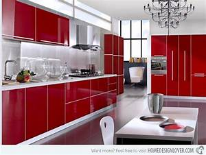 15 extremely hot red kitchen cabinets decoration for house With kitchen colors with white cabinets with made in china sticker
