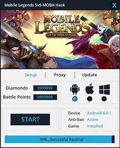Mobile Legends Hack Cheat Working Tested 100