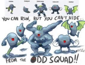 Funny Pokemon Fusion Odd Squad