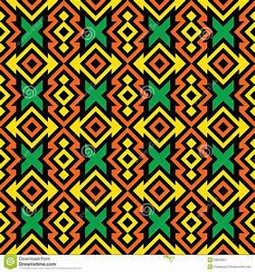 Seamless African Pattern stock vector. Image of tiled ...