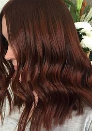 Burgundy and Copper Red Hair Colors