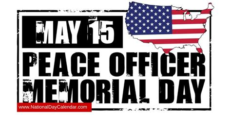 15 Peace Officers Memorial Day 2016 Pictures And Images