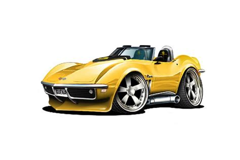 Cartoon Corvette Related Keywords